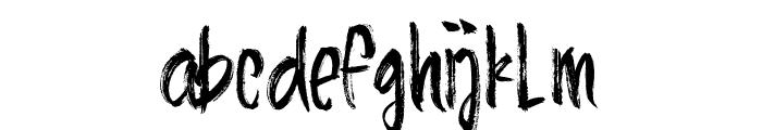 AlineaTypeface Font LOWERCASE