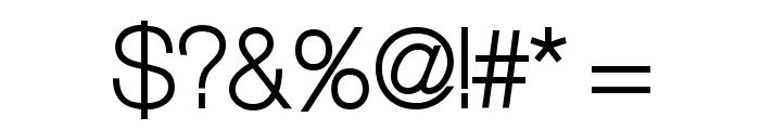 Aliquam Font OTHER CHARS