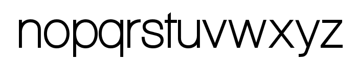 Aliquam Font LOWERCASE