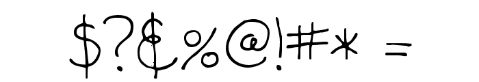 Alisha Font OTHER CHARS