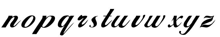 Alison Regular Font LOWERCASE