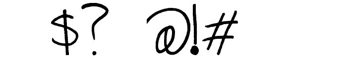 Alix2 Font OTHER CHARS