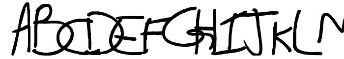 Alix2 Font UPPERCASE