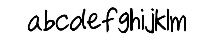 AllThatMatters Font LOWERCASE