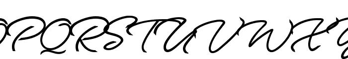 Allegratta Personal Use Regular Font UPPERCASE