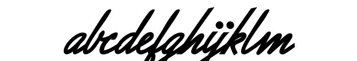 Allegratta Personal Use Regular Font LOWERCASE