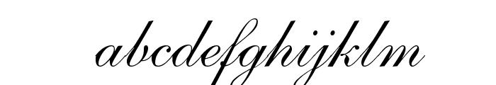 Allegro Font LOWERCASE