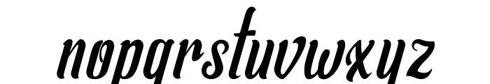 Allema Font LOWERCASE