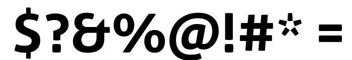 Aller Bold Font OTHER CHARS