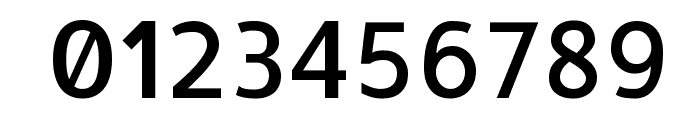 Allerta Medium Font OTHER CHARS