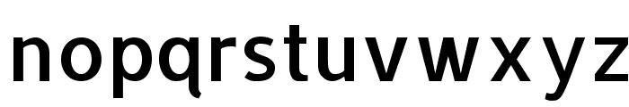 Allerta Regular Font LOWERCASE
