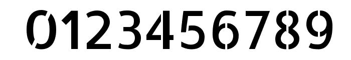 Allerta Stencil Regular Font OTHER CHARS