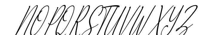 Alliando Font UPPERCASE