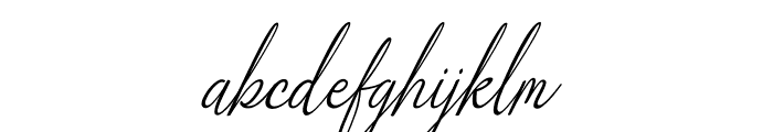Alliando Font LOWERCASE