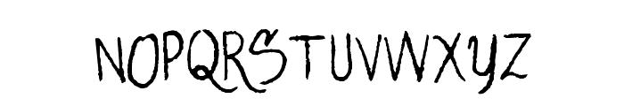 AlligatorSky-Regular Font UPPERCASE