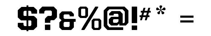 Allstar4 Font OTHER CHARS