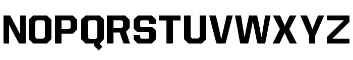 Allstar4 Font LOWERCASE
