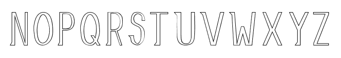 AllusionOutlined Font LOWERCASE