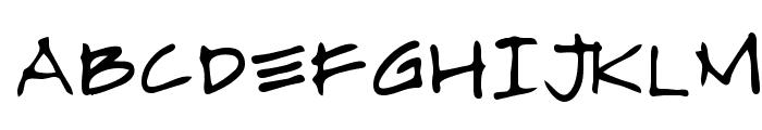 Almagro Regular Font UPPERCASE