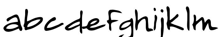 Almagro Regular Font LOWERCASE