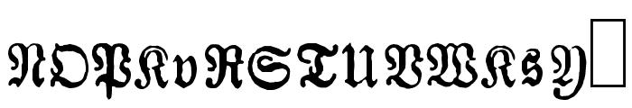 Almanacques Font UPPERCASE