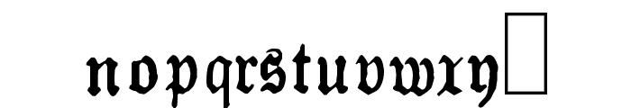 Almanacques Font LOWERCASE
