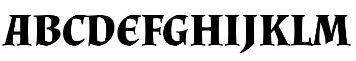 Almendra Bold Font UPPERCASE
