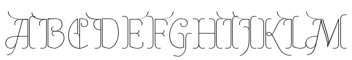 Almendra Display Regular Font UPPERCASE