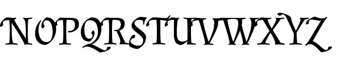 Almendra SC Font UPPERCASE