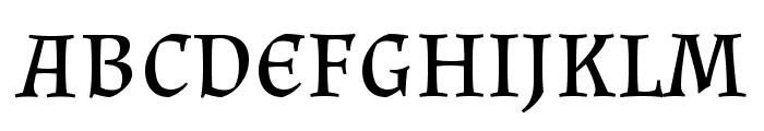 Almendra SC Font LOWERCASE