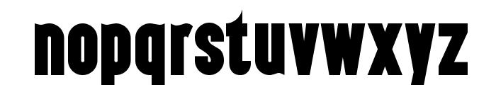 Almonte-Regular Font LOWERCASE