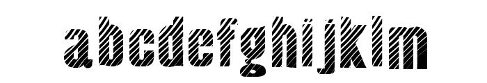Almonte Woodgrain Font LOWERCASE