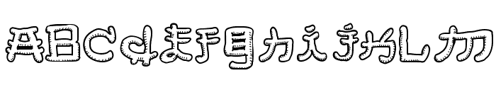 Almost Japanese Smooth Font LOWERCASE