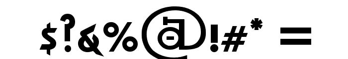 Almost Sanskrit taj Bold Font OTHER CHARS