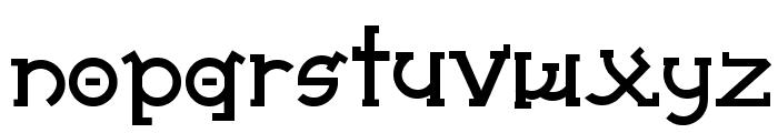 Almost Sanskrit taj Bold Font UPPERCASE