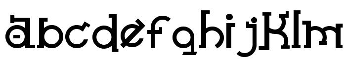Almost Sanskrit taj Bold Font LOWERCASE