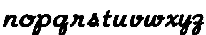 Aloha Font LOWERCASE
