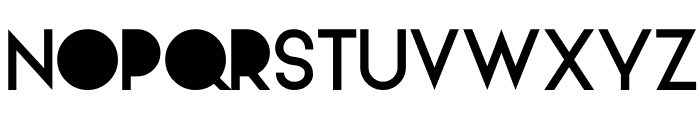 Alpaca Solidify Font UPPERCASE