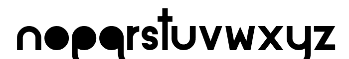 Alpaca Solidify Font LOWERCASE