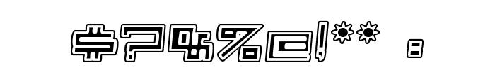 Alpha  CLOWN Font OTHER CHARS