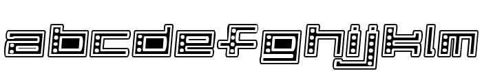 Alpha  CLOWN Font LOWERCASE