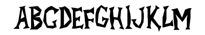 Alpha Dance Font UPPERCASE