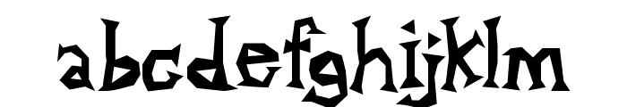 Alpha Dance Font LOWERCASE