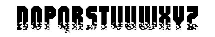 Alpha Mutation Font UPPERCASE
