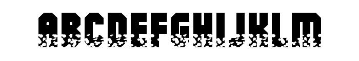 Alpha Mutation Font LOWERCASE