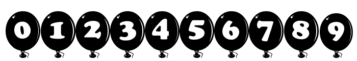 AlphaBalloon Font OTHER CHARS