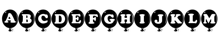 AlphaBalloon Font UPPERCASE