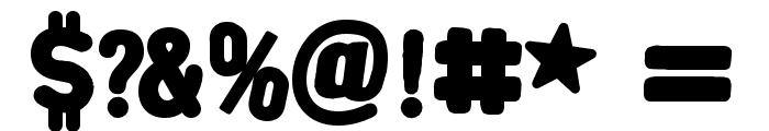 AlphaFridgeMagnets  Font OTHER CHARS