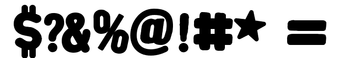 AlphaFridgeMagnetsAllCap Font OTHER CHARS