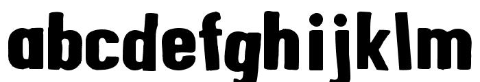 AlphaFridgeMagnets  Font LOWERCASE